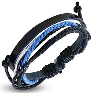 Fashion Multi Color Wrap Rope Adjustable